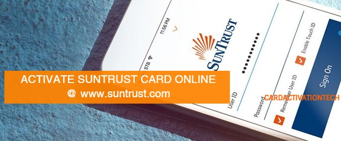 Activate SunTrust Card Online