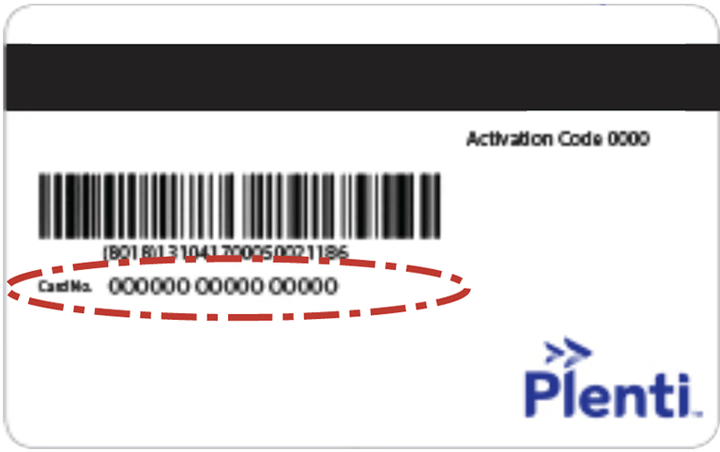 plenti-card activation