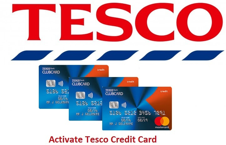 Tesco Credit Card Activate