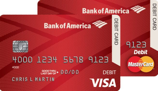 Bank of America Activate Debit Card
