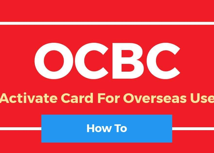 Activate OCBC Credit Card