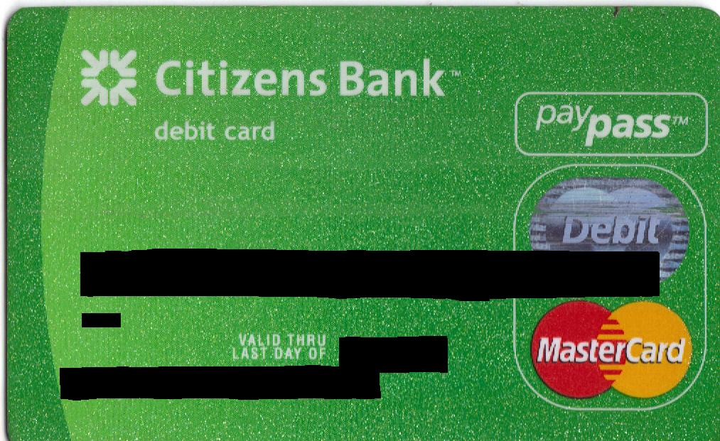 Citizens Bank Debit Card Activation