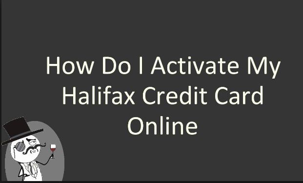 Halifax Credit Card Activate