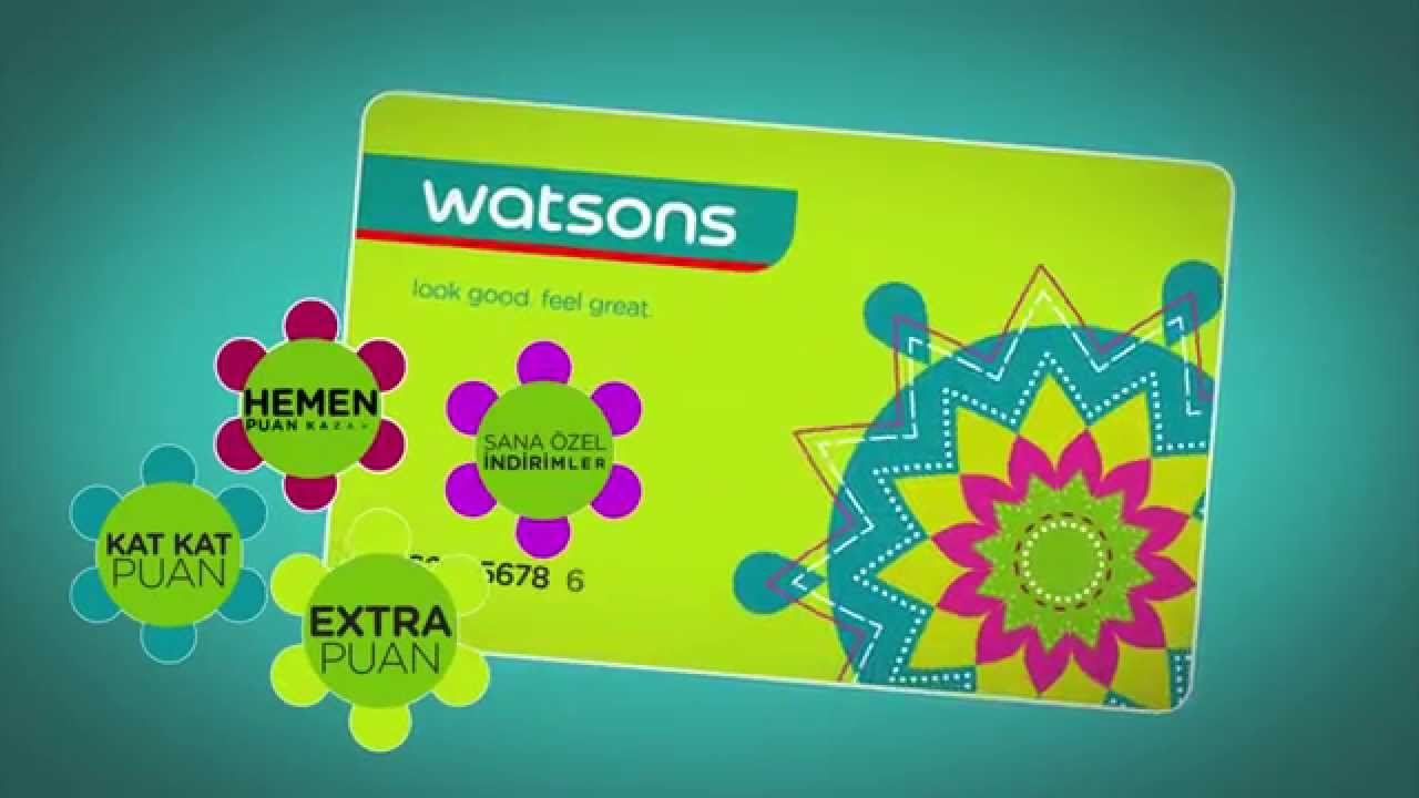 Watsons Card Activation